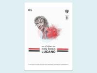 Football Poster: Diego Lugano