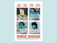 Football Poster: Uruguayan Blood