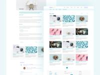 Spoleczny biznes - Blog xd comments support social post blog design minimalism clean web design web ux ui