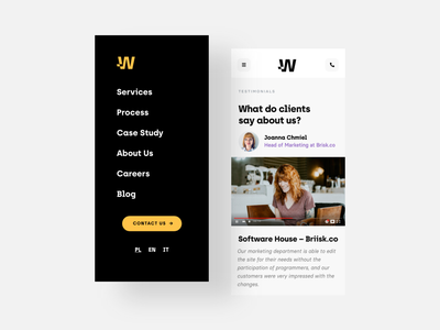 Wise People - Mobile mobile ui xd agency responsive mobile design mobile app mobile minimal clean ux ui