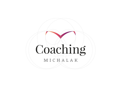 Coaching Michalak grid golden ratio bird studio coach coaching band book logo