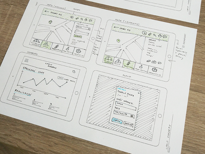Wireframes of Logic Synergy course chyr usability app mobile ux sketch wireframing wireframe