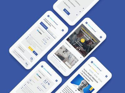 Najlepszekonto.pl web website design grid ui ux finance rwd responsive mobile