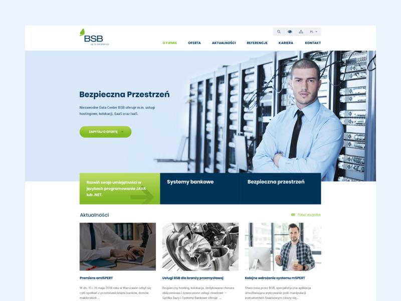 BSB wordpress design uiux wordpress website design ux design ui design landing page landing web design banking ux ui clean web