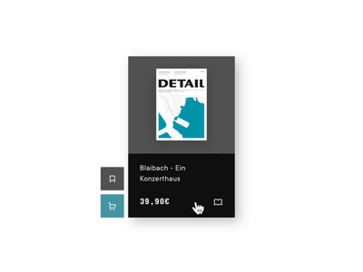 Product Card tile motion design design button molecule interaction animation sketch bookmark cart ui product card card production hover effect hover state hover