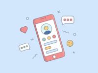 Illustration • Phone
