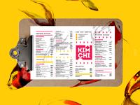 """""""Kimchi"""" korean restaurant   branding"""