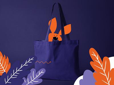 kango | bag bag character shymkent illustration kangaroo kazakhstan logo vector design branding brand