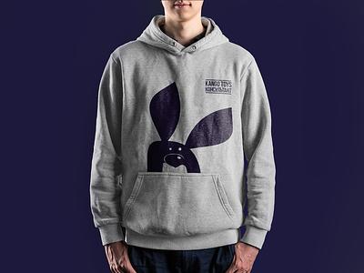 kango | hoodie toy kids hoodie kangaroo shymkent kazakhstan logo vector design branding brand