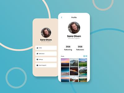 006 Daily UI - User Profile user profile dailyui ux ui ux ui design ui design