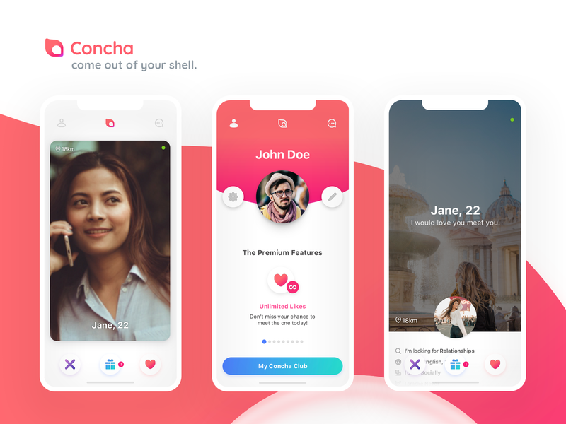 Dating app pink