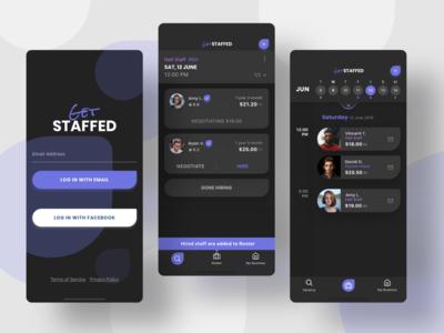 Mobile App - Get Staffed
