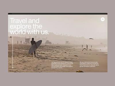 Explore The World. bartekburda burda bartek page site responsive web design website web uiux uxui ui ux product design product mobile graphic design design