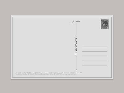 Postcard. figma postcard clean illustration branding typo typography graphic design design