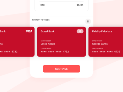 Daily UI 02 — Card Payment