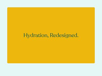 Daily UI 03 — Landing Page home page larq water bottle orange website layout invision ui webdesign product ibm plex recoleta landing page 003 daily ui