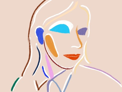 Shape portrait euge pasquali euge pasquali eugepasquali colorful design womanportrait selfie portrait self portrait fashioncover branding fashion illustration painting contemporaryart fashionillustration illustration colorful art digital art brushpen
