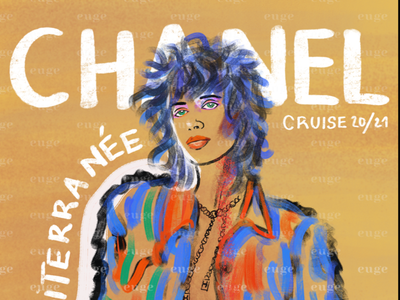 Chanel cruise 21 fashion design chanelbrand chanelbrand colorful design contemporaryart brushpen colorful art digital art brushes ilustración de moda colorful illustration fashion illustrator fashion illustration fashion cover fashion brand chanel