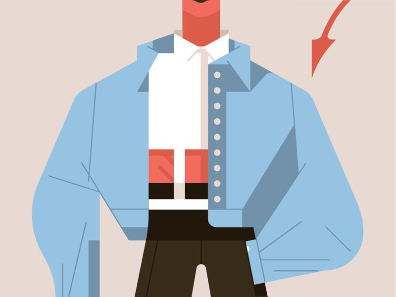 👹 lifestyle fashion illustrator adobe vector illustration