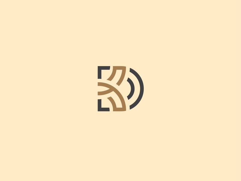 monogram dk illustrator monogramlogo logotype logo design