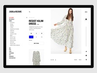 eCommerce Product Detail Concept