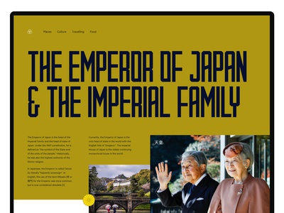 The Emperor of Japan & The Imperial Family