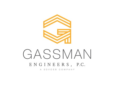 Gassman Engineers logo design icon logotype logomark mark identity engineers engineering