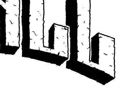 Concrete Type type typography art logo headline grunge