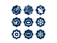 Winter Promotion Icons