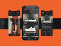 Running app / MiRun - Shop