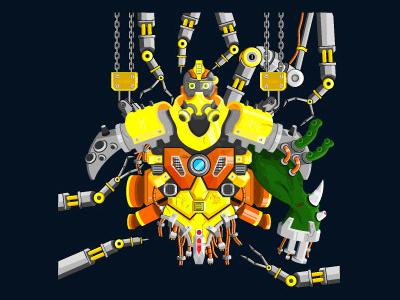 Yellow Robo