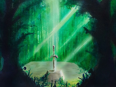 Lost Woods Master Sword
