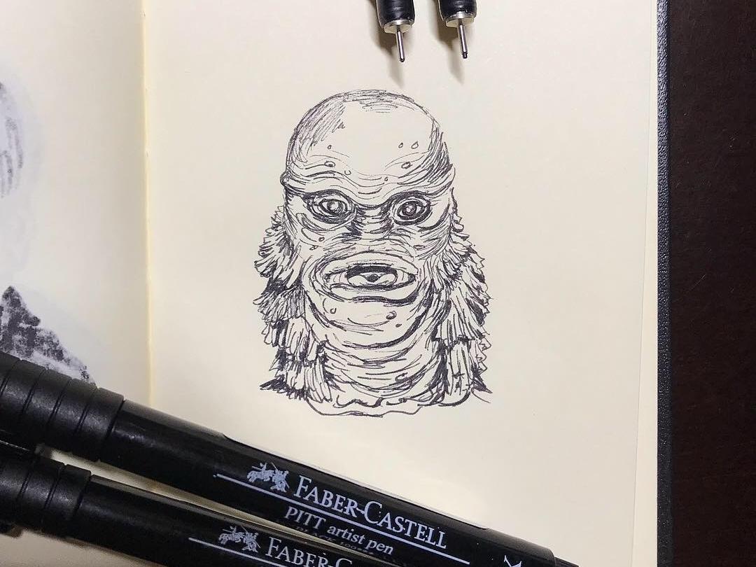 Creature from the Black Lagoon by Ivan Ramirez on Dribbble