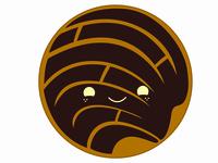 Chocolate Concha Pan Dulce (Mexican Sweet Bread)