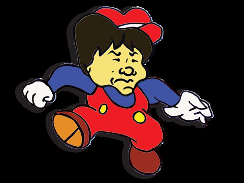 Jump Man Shigeru Miyamoto arcade game super smash bros smash bros mario day donkey kong super mario jump man video games logo design vector ui illustration