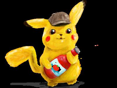 Detective Pikachu & his Ketchup