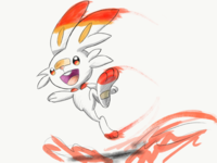 Scorbunny (Pokemon Sword & Shield)
