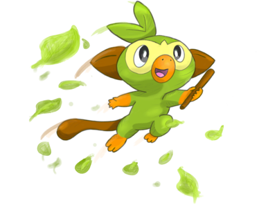Grookey (Pokemon Sword & Shield)