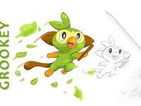 Grookey (Pokemon Sword & Shield)