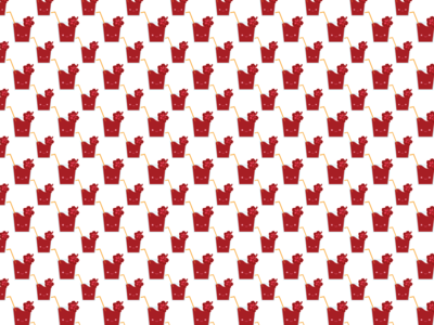 Agua de Jamaica (Hibiscus Iced Tea) Pattern