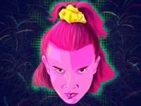 Eleven (Millie Bobby Brown) Stranger Things