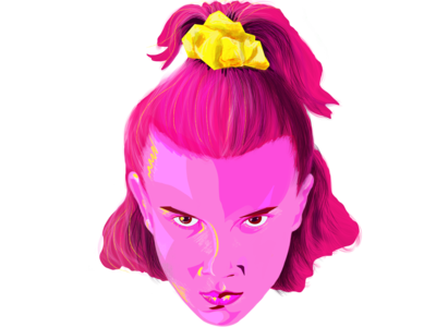 Eleven (Millie Bobby Brown) Stranger Things