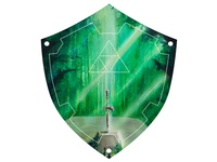 Hylian Shield (Master Sword in the Lost Woods)