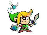 Angry Chibs Link (The Legend of Zelda)