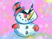 Angry Chib Snowman