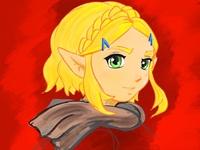 Short Hair Zelda (Breath of the Wild Sequel)