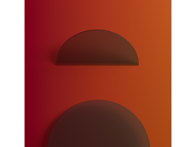 A. 36 Days of Type 07 3dtype lettering typography 36days-a 36daysoftype circle circles minimalism minimal cgi cg 3dartist 3d