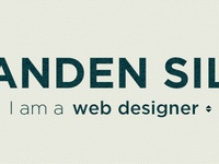 I am a web designer; among other things