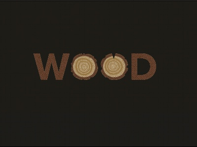 Wood Logo by Branden Silva - Dribbble