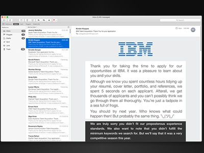 Career Anxiety career anxiety ibm design technology typography email jobs